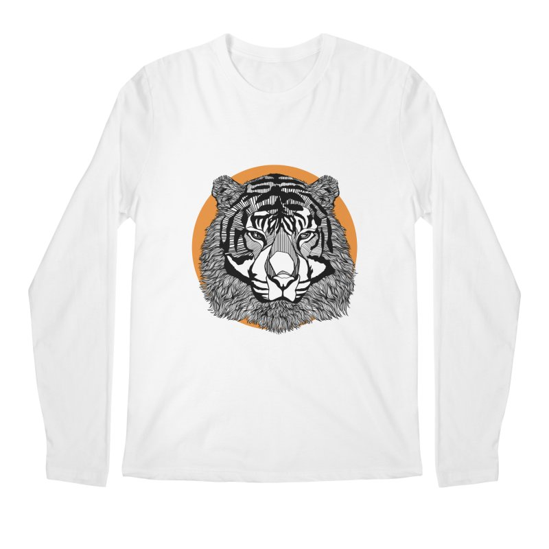 Tiger Men's Longsleeve T-Shirt by topodos's Artist Shop