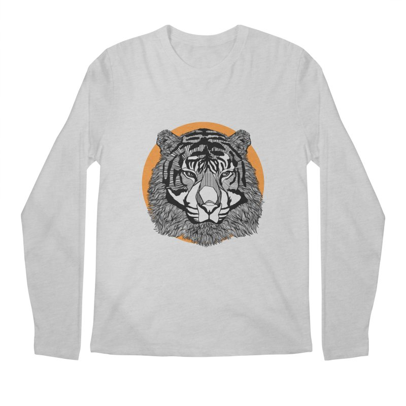 Tiger Men's Longsleeve T-Shirt by topodos's Artist Shop