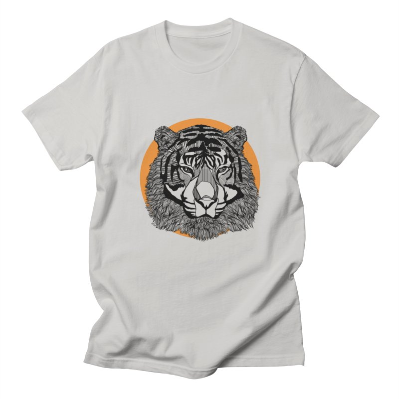 Tiger Men's T-Shirt by topodos's Artist Shop