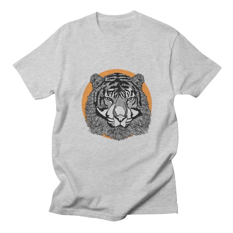 Tiger Men's T-Shirt by topodos's Artist Shop