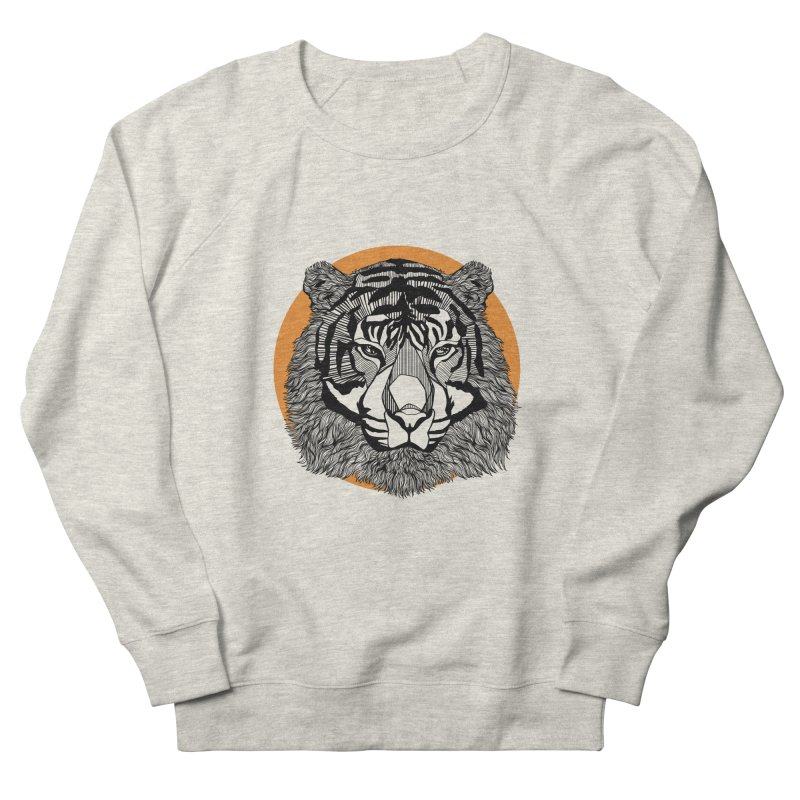Tiger Women's Sweatshirt by topodos's Artist Shop
