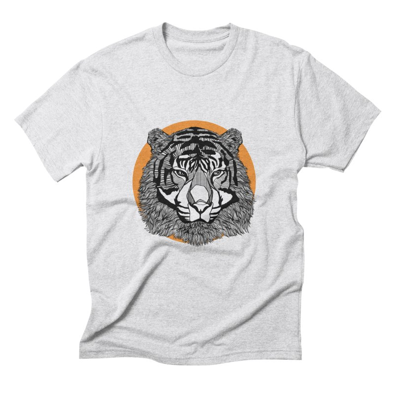 Tiger Men's Triblend T-Shirt by topodos's Artist Shop