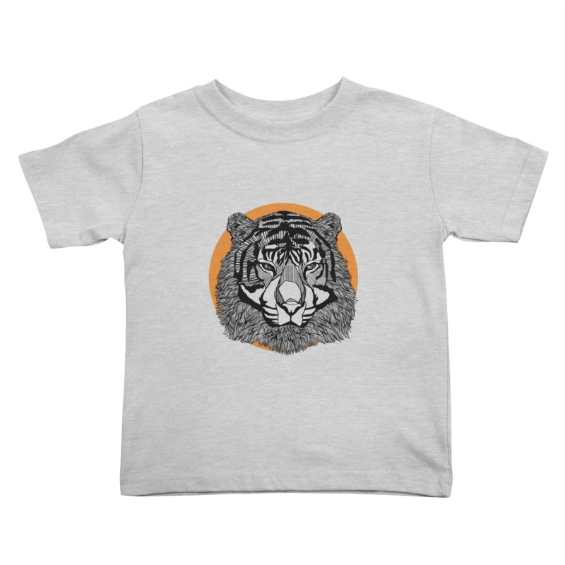 Tiger Kids Toddler T-Shirt by topodos's Artist Shop