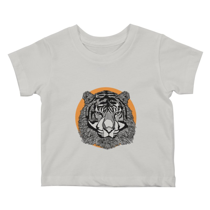 Tiger Kids Baby T-Shirt by topodos's Artist Shop