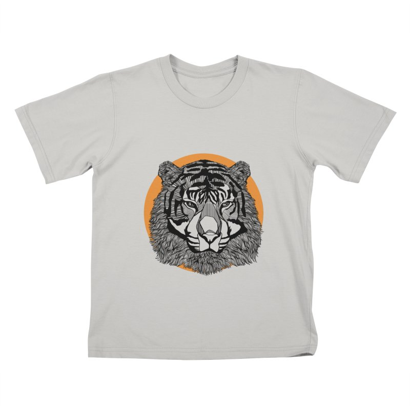 Tiger Kids T-shirt by topodos's Artist Shop