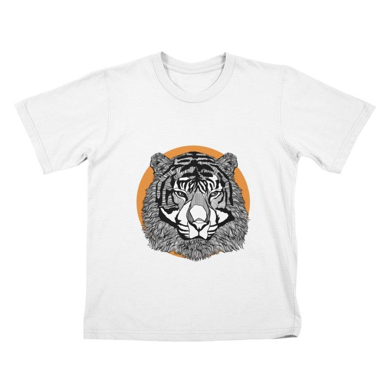 Tiger Kids T-shirt by topodos's Artist Shop