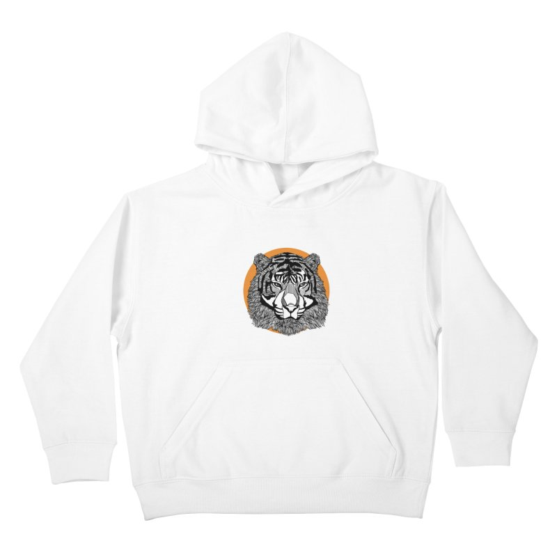Tiger Kids Pullover Hoody by topodos's Artist Shop