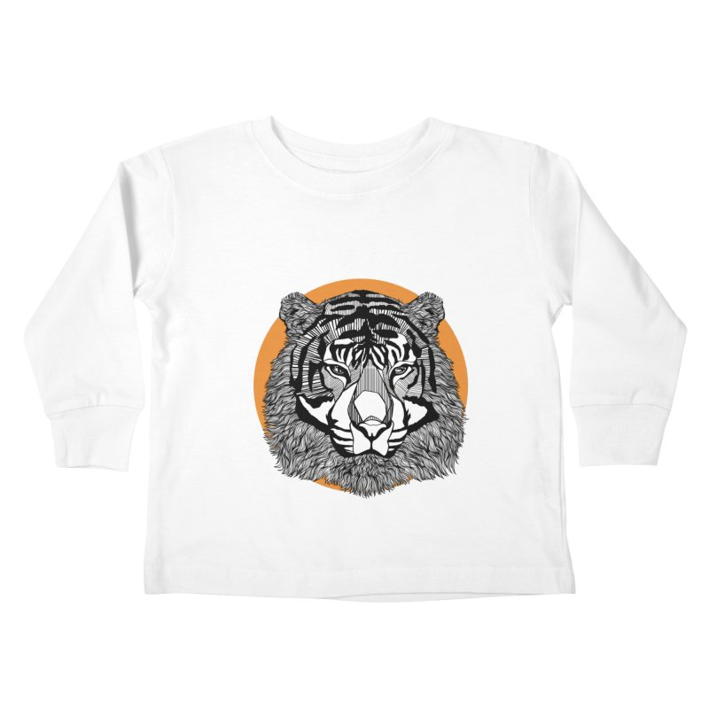 Tiger Kids Toddler Longsleeve T-Shirt by topodos's Artist Shop