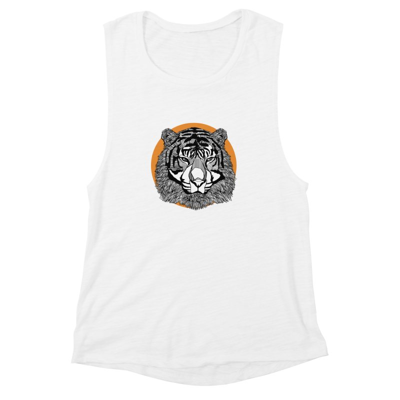 Tiger Women's Muscle Tank by topodos's Artist Shop