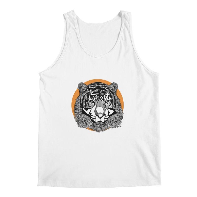 Tiger Men's Tank by topodos's Artist Shop