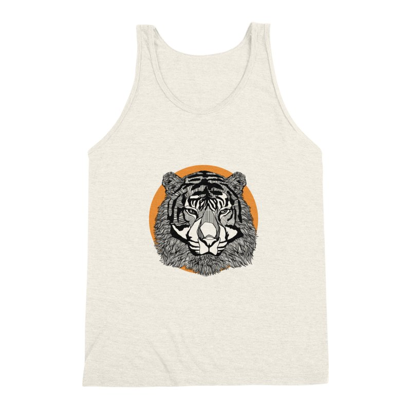 Tiger Men's Triblend Tank by topodos's Artist Shop