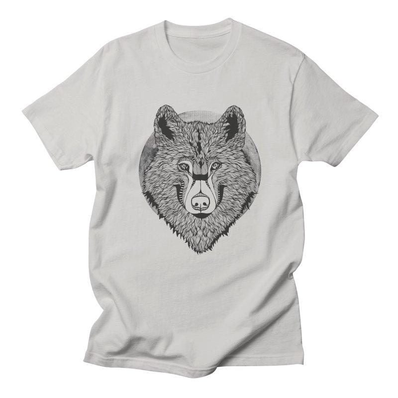 Wolf Men's T-Shirt by topodos's Artist Shop