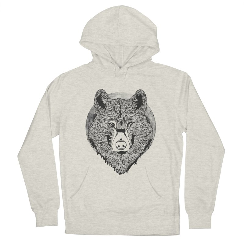 Wolf Men's Pullover Hoody by topodos's Artist Shop