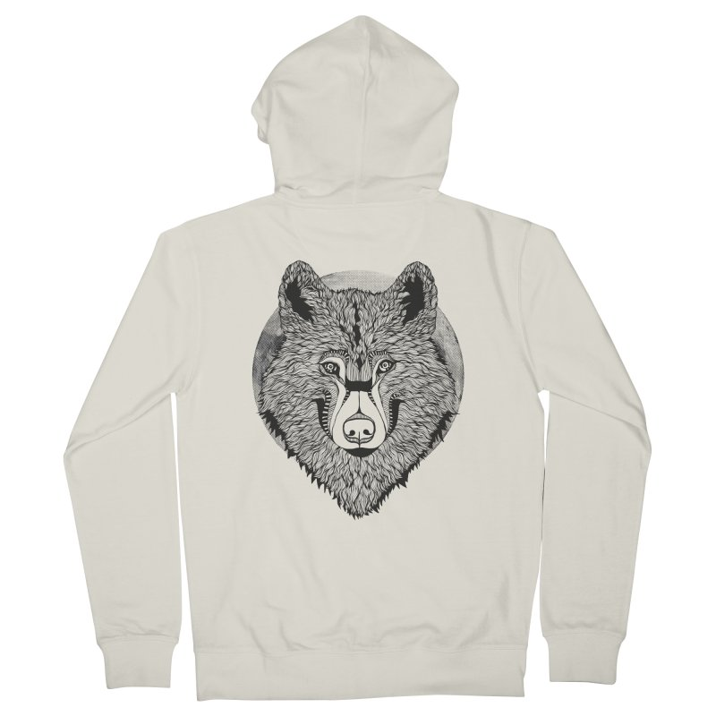 Wolf Women's Zip-Up Hoody by topodos's Artist Shop