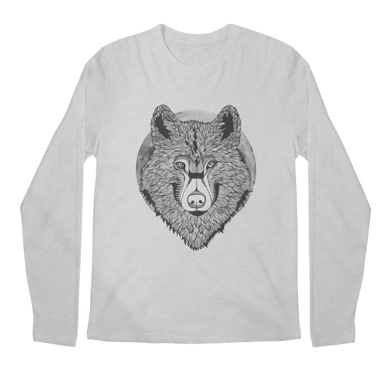 Wolf Men's Longsleeve T-Shirt by topodos's Artist Shop