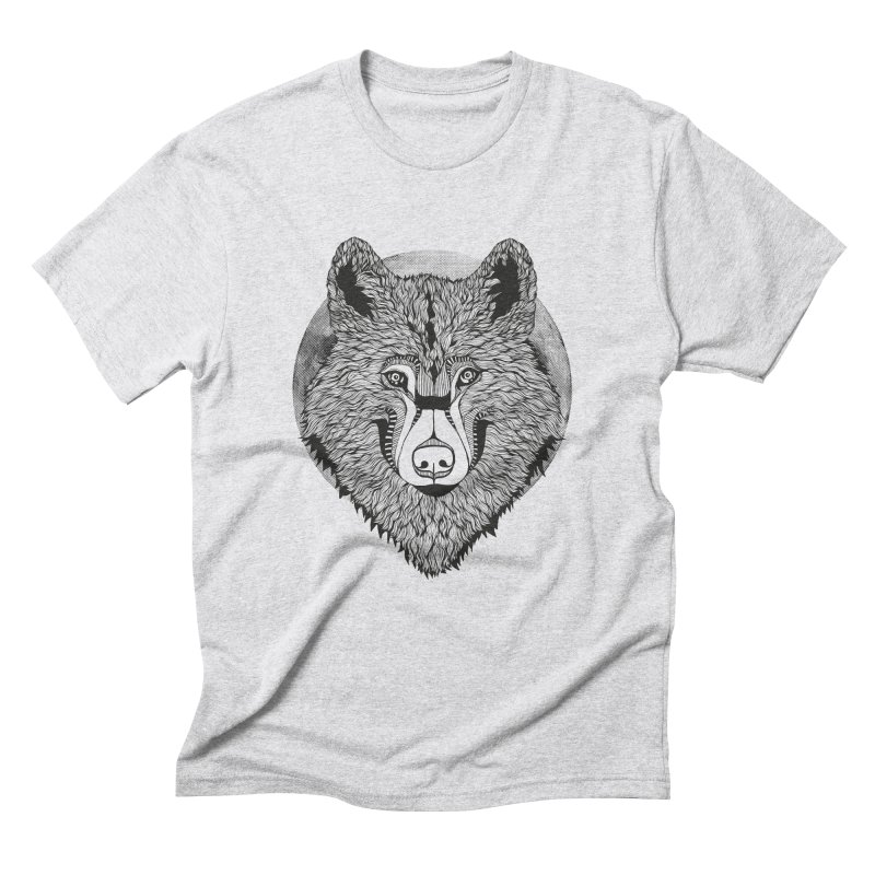 Wolf Men's Triblend T-Shirt by topodos's Artist Shop