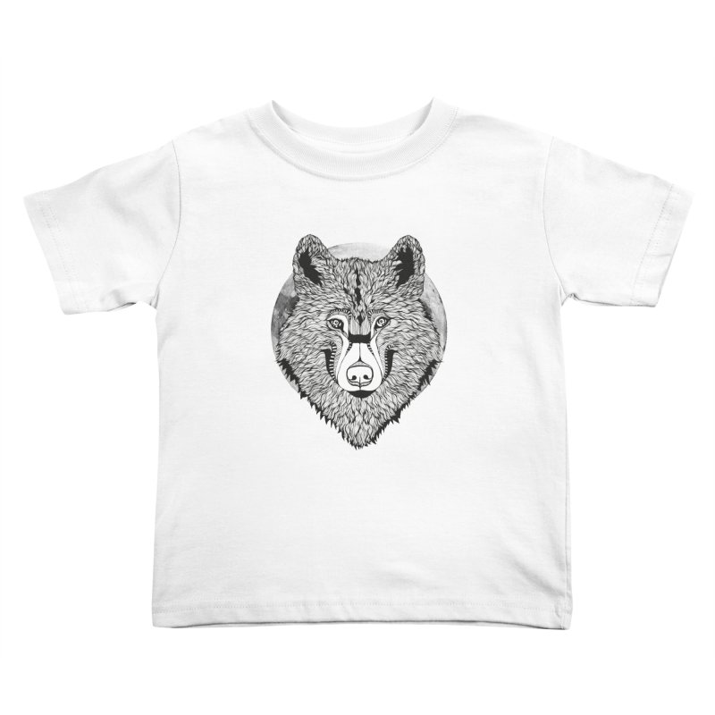 Wolf Kids Toddler T-Shirt by topodos's Artist Shop