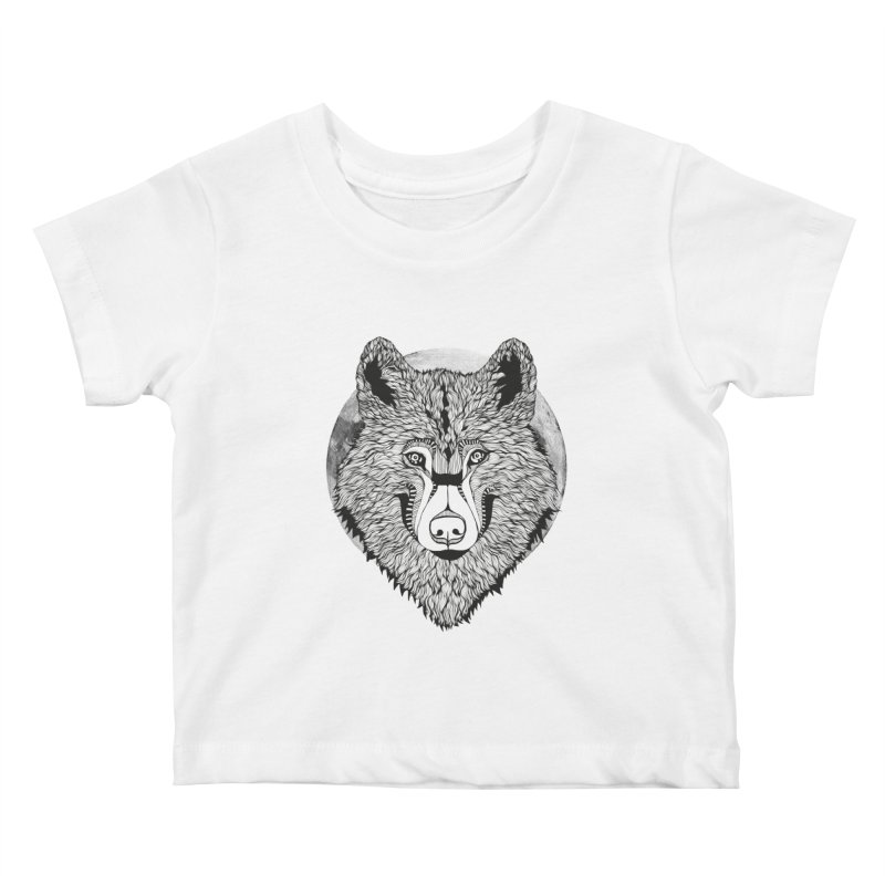 Wolf Kids Baby T-Shirt by topodos's Artist Shop