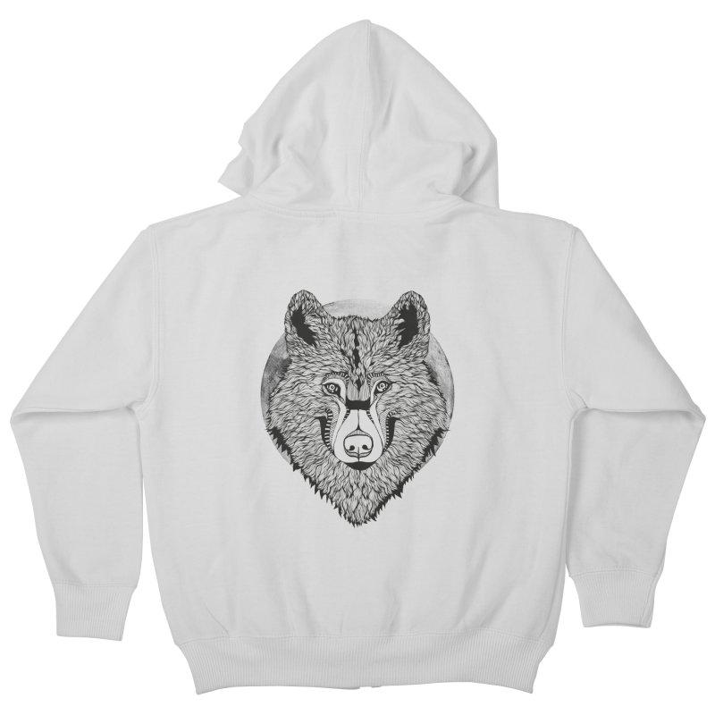 Wolf Kids Zip-Up Hoody by topodos's Artist Shop