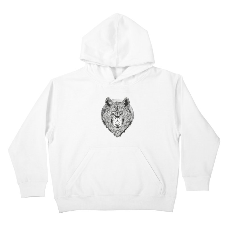 Wolf Kids Pullover Hoody by topodos's Artist Shop