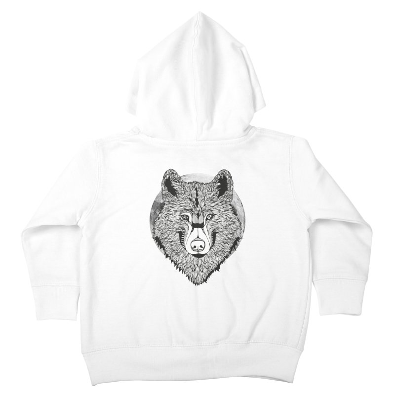 Wolf Kids Toddler Zip-Up Hoody by topodos's Artist Shop