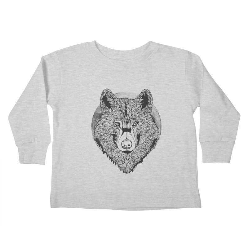 Wolf Kids Toddler Longsleeve T-Shirt by topodos's Artist Shop