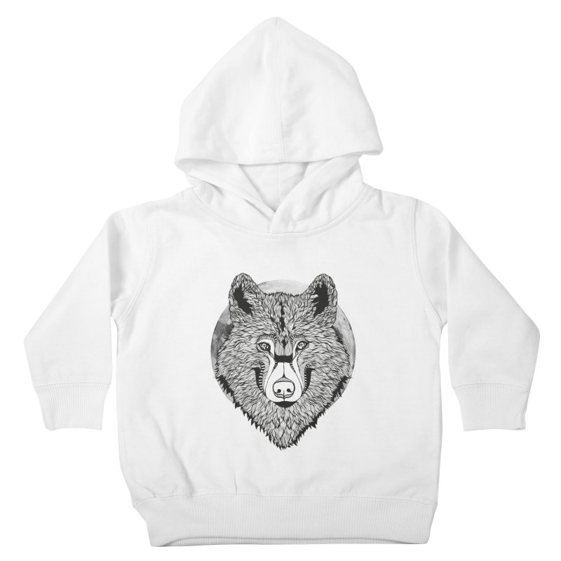 Wolf Kids Toddler Pullover Hoody by topodos's Artist Shop