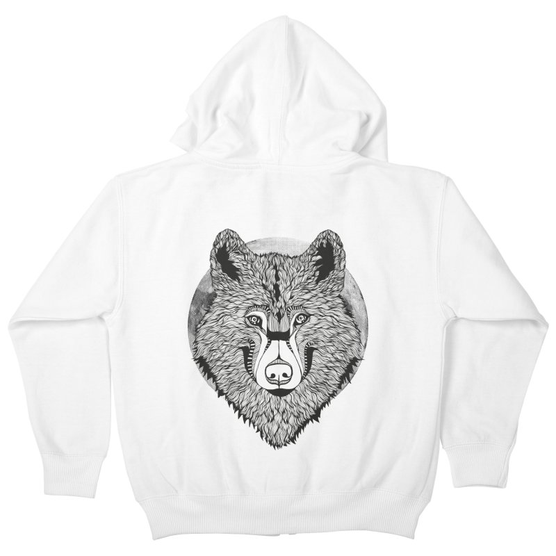 Wolf Kids Zip-Up Hoody by topodos's Artist Shop