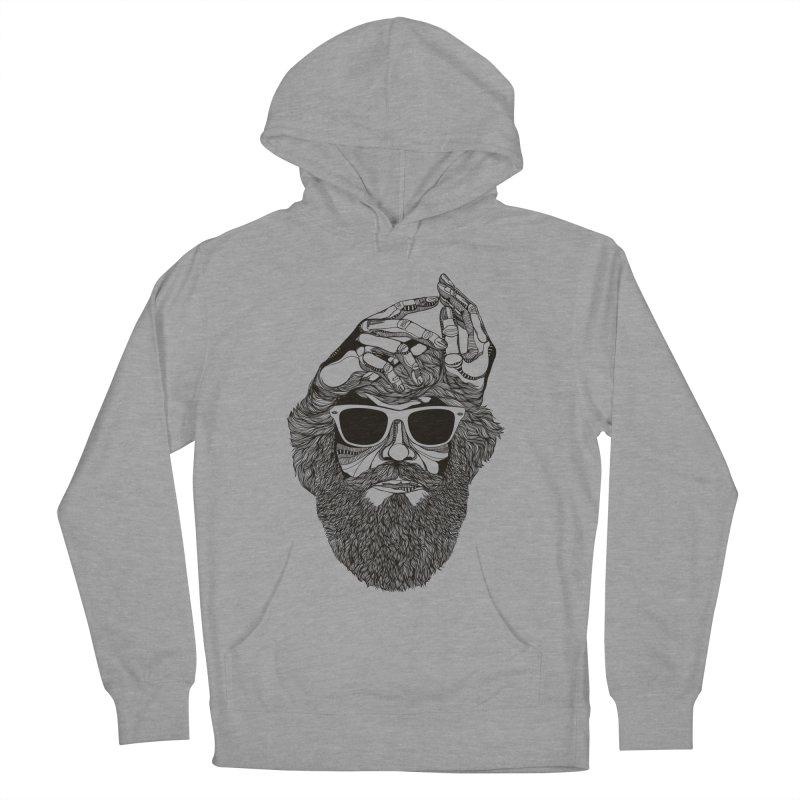 Overbeard Women's Pullover Hoody by topodos's Artist Shop