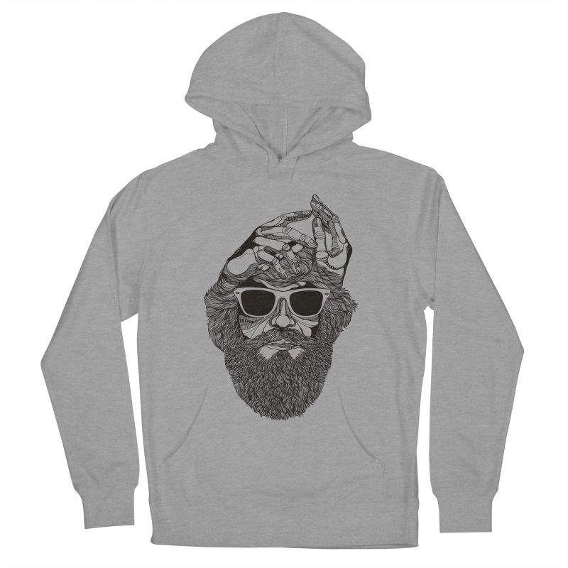 Overbeard Men's Pullover Hoody by topodos's Artist Shop