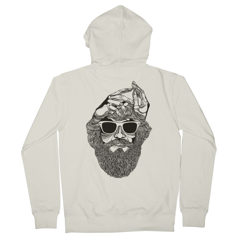 Overbeard Women's Zip-Up Hoody by topodos's Artist Shop