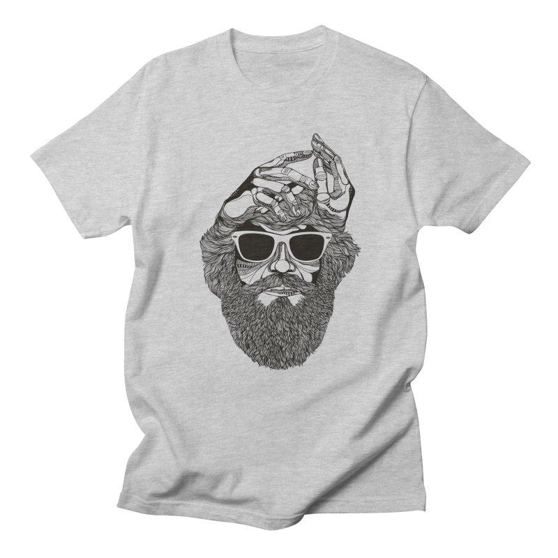 Overbeard Men's T-Shirt by topodos's Artist Shop