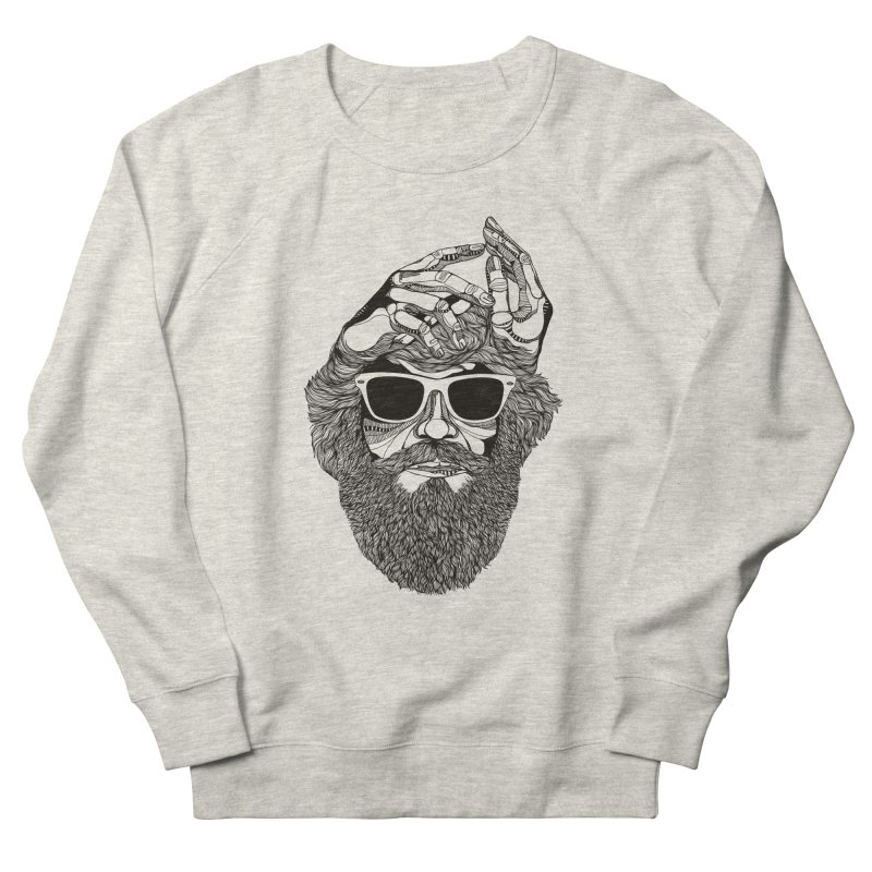 Overbeard Women's Sweatshirt by topodos's Artist Shop