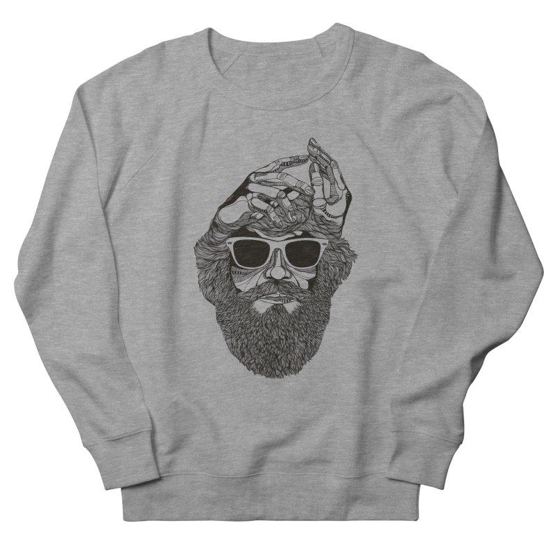 Overbeard Men's Sweatshirt by topodos's Artist Shop