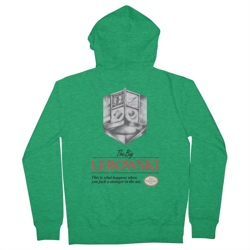 The Legend of Lebowski Men's Zip-Up Hoody by torakamikaze's Artist Shop