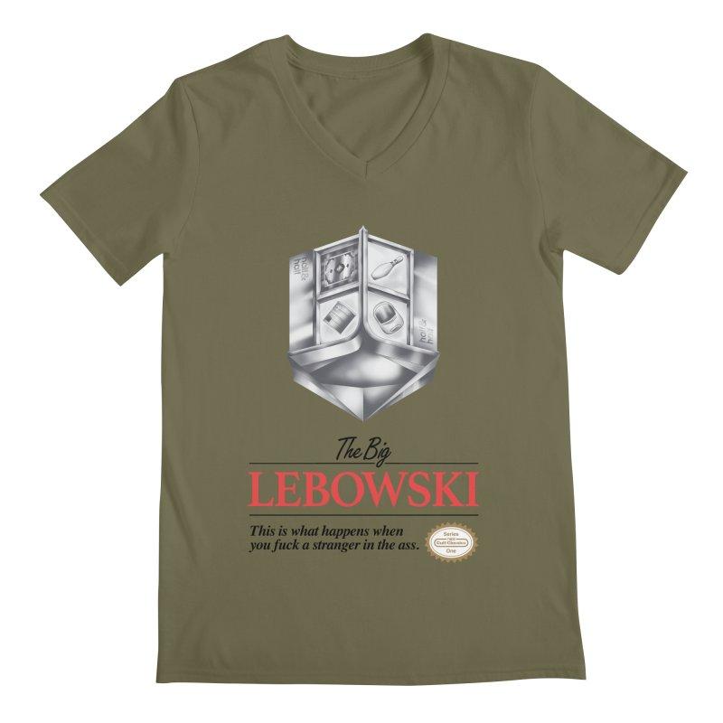 The Legend of Lebowski Men's V-Neck by torakamikaze's Artist Shop