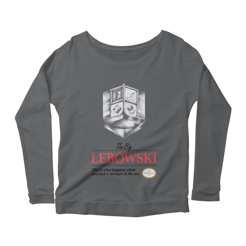The Legend of Lebowski Women's Longsleeve Scoopneck  by torakamikaze's Artist Shop