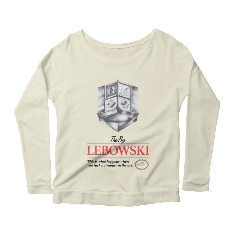 The Legend of Lebowski Women's Longsleeve Scoopneck  by torakamikaze's Artist Shop