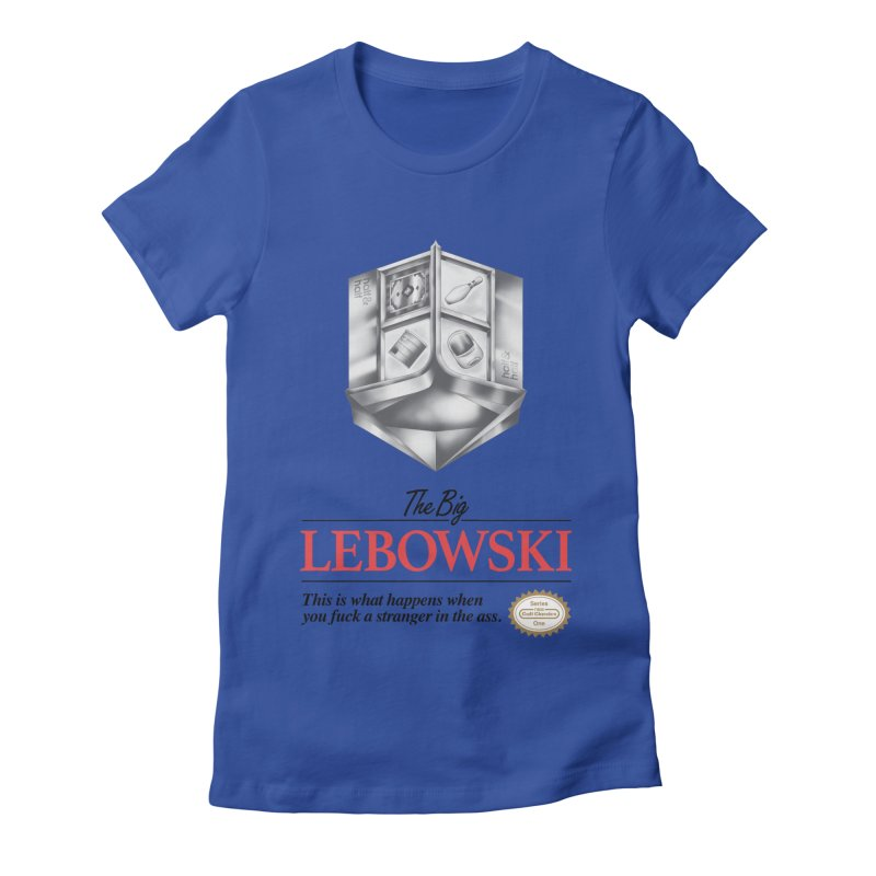 The Legend of Lebowski Women's Fitted T-Shirt by torakamikaze's Artist Shop