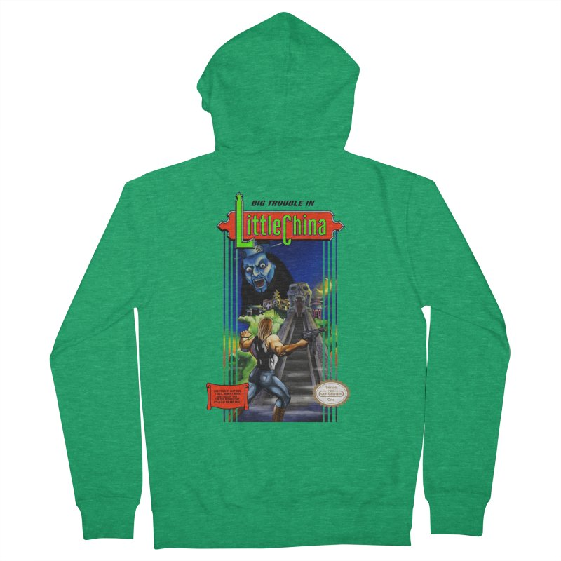 Big Castle In Little Vania Women's Zip-Up Hoody by torakamikaze's Artist Shop