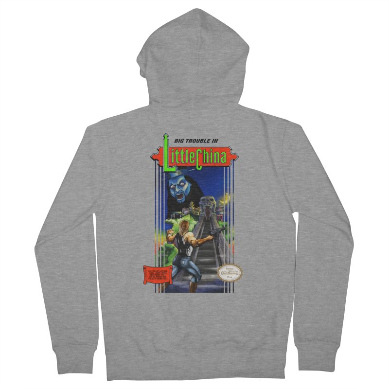 Big Castle In Little Vania Men's Zip-Up Hoody by torakamikaze's Artist Shop