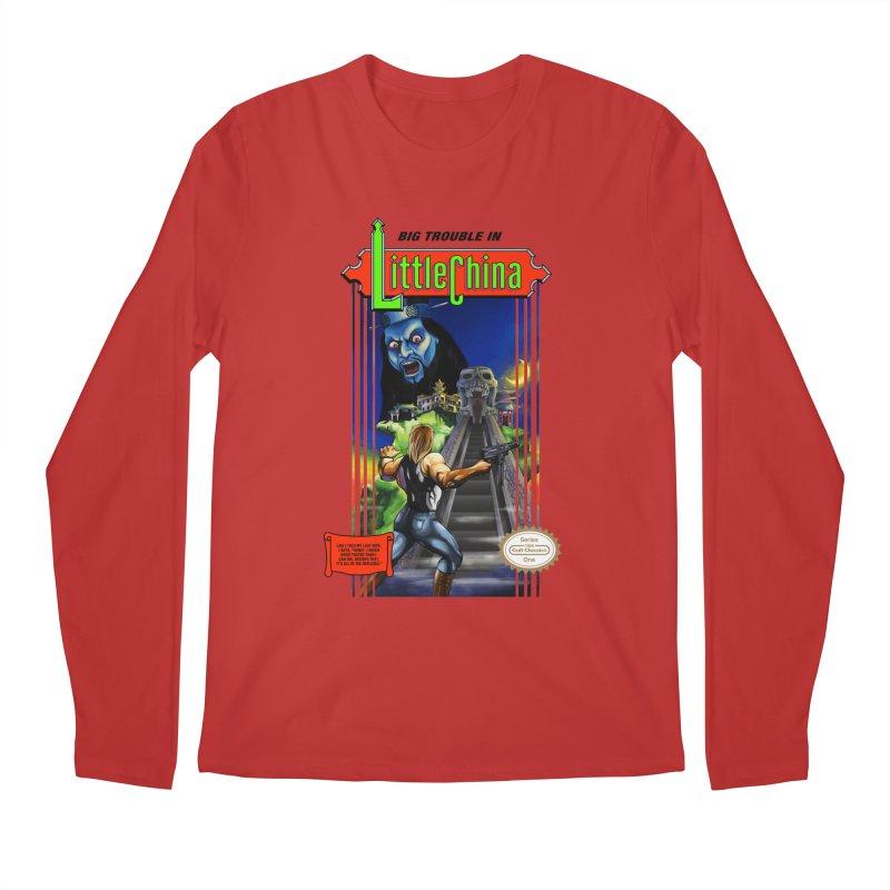 Big Castle In Little Vania Men's Longsleeve T-Shirt by torakamikaze's Artist Shop