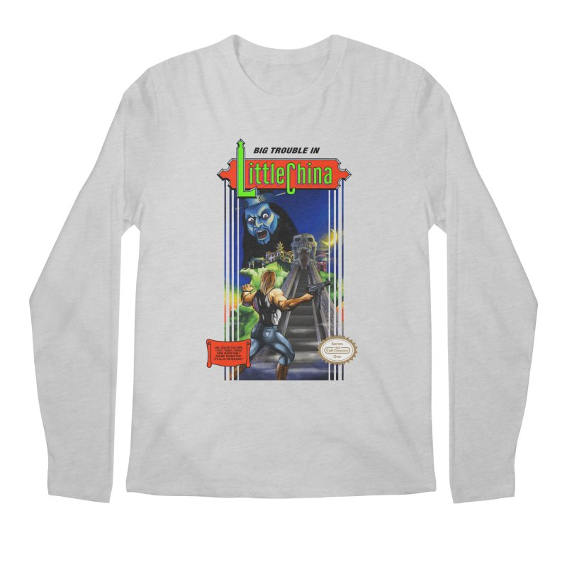 Big Castle In Little Vania Men's Longsleeve T-Shirt by torakamikaze's Artist Shop