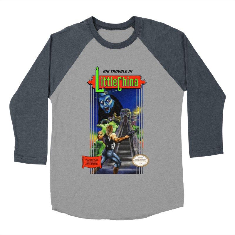 Big Castle In Little Vania Women's Baseball Triblend T-Shirt by torakamikaze's Artist Shop