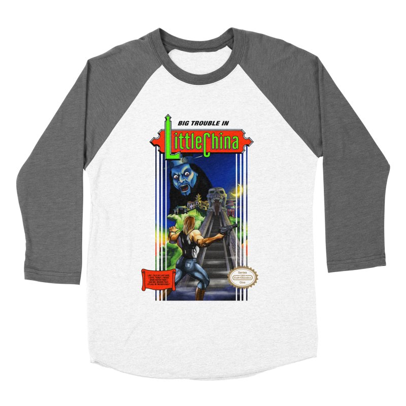 Big Castle In Little Vania Men's Baseball Triblend T-Shirt by torakamikaze's Artist Shop