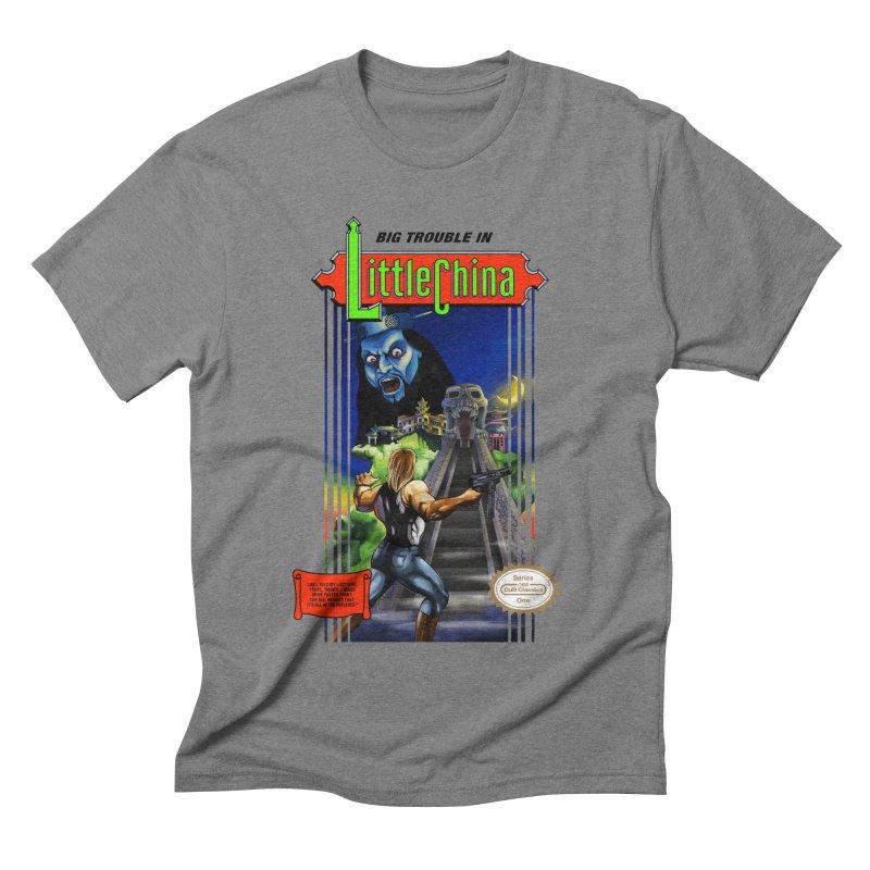 Big Castle In Little Vania in Men's Triblend T-shirt Grey Triblend by torakamikaze's Artist Shop