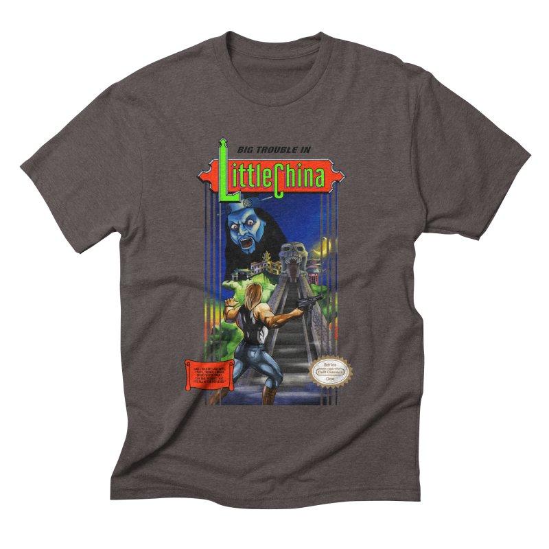 Big Castle In Little Vania Men's Triblend T-shirt by torakamikaze's Artist Shop