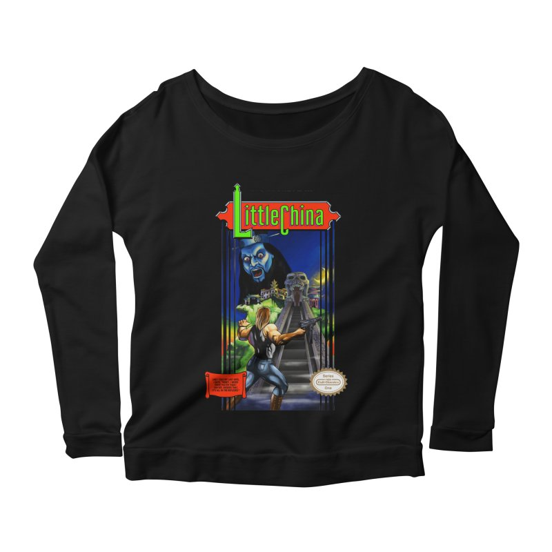 Big Castle In Little Vania Women's Longsleeve Scoopneck  by torakamikaze's Artist Shop