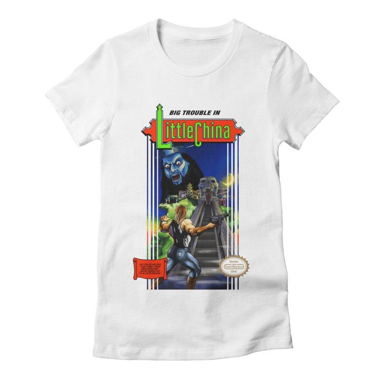 Big Castle In Little Vania Women's Fitted T-Shirt by torakamikaze's Artist Shop