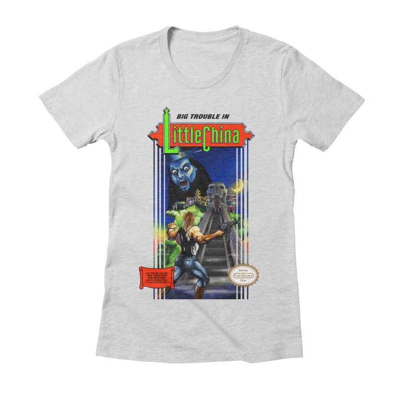 Big Castle In Little Vania Women's Fitted T-Shirt by torakamikaze's Artist Shop
